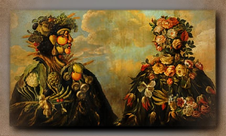 Der herbst und der Hochmut, Giuseppe Arcimboldo